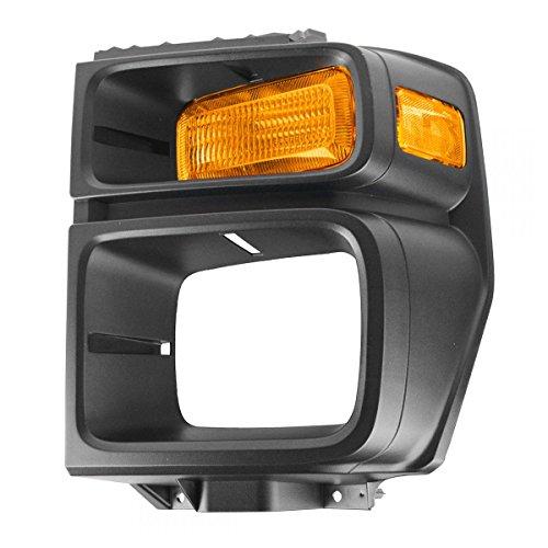 Headlight Trim Bezel w/Parking Turn Signal Light Lamp Driver LH for 08-12 E150