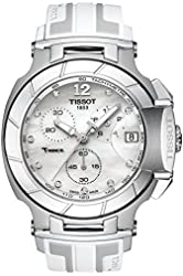 Tissot T0484171711600 T-Racechronograph Rubber Ladies Watch