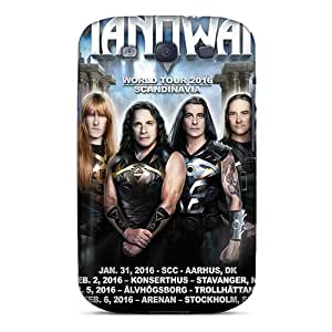 Best Cell-phone Hard Cover For Samsung Galaxy S3 With Support Your Personal Customized Vivid Manowar Band Series Marycase88