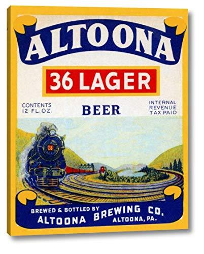 Altoona 36 Lager Beer by Vintage Booze Labels - 15