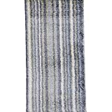 Wolala Home Modern Simple Stripe Carpet Geometric Patterns Small Door Mat Durable Machine Washable Rug (2 6x5 0...
