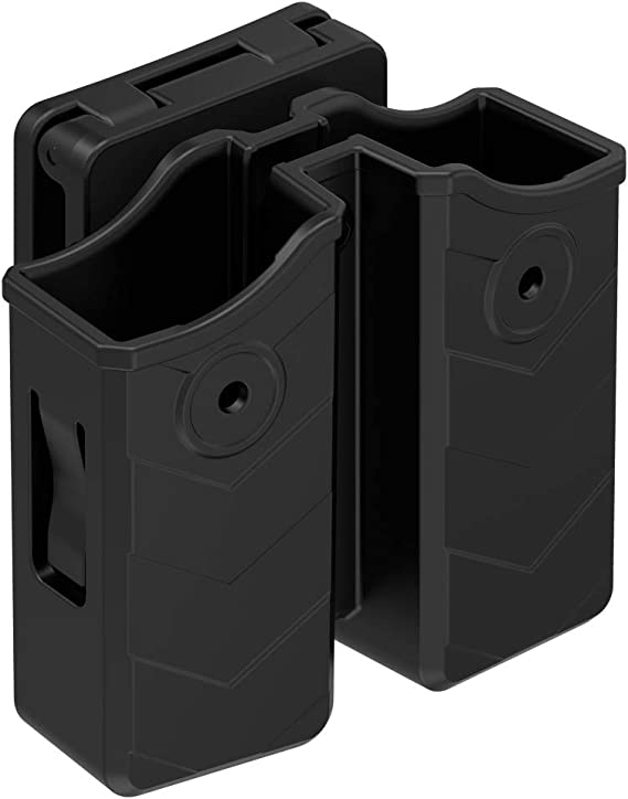 """LH SHOOTER Mag Holder Fits Belts up to 1.5/"""" DOUBLE MAG POUCH For SIG P365"""