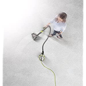 HOOVER Air Revolve Multi Position Bagless Corded Canister Vacuum - above view