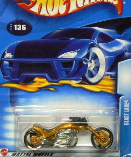 Lane Blast - Hot Wheels 2003-136 Blast Lane GOLD Highway 35 1:64 Scale