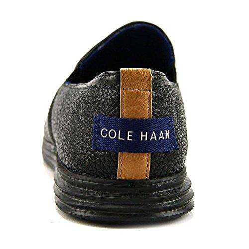 Cole Haan Womens Ella Grand 2gore Slipon Slipon Dagdrivare Svart Läder / Svart