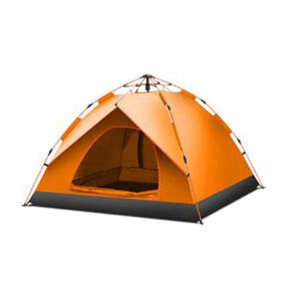 CAIXIA Outdoor 3-4 Personen Automatisches Schnellöffnendes, regendichtes Sonnenschutz-Zelt, einlagig