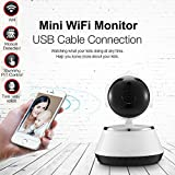 Wireless WiFi IP Camera 720P HD Pan Tilt Network Security Home Monitor WiFi Network Connect Webcam with Day and Night Vision for Baby Pet Elder Nanny Office Monitor Review