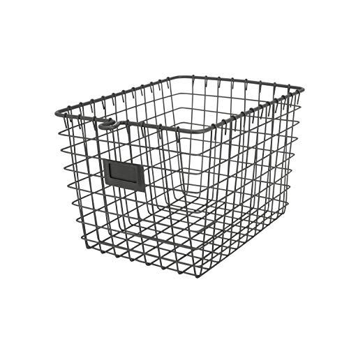Spectrum Diversified Wire Storage Basket, Small, Industrial -