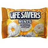 Life Savers Orange Mints - 13 oz bag - Individually Wrapped