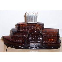 Vintage 1972 avon STEAMBOAT Decanter Bottle