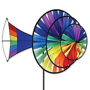 Large Rainbow Triple Spinner