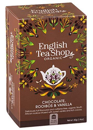 English Tea Shop - Chocolate, Rooibos & Vanilla - 20 Sachets - -