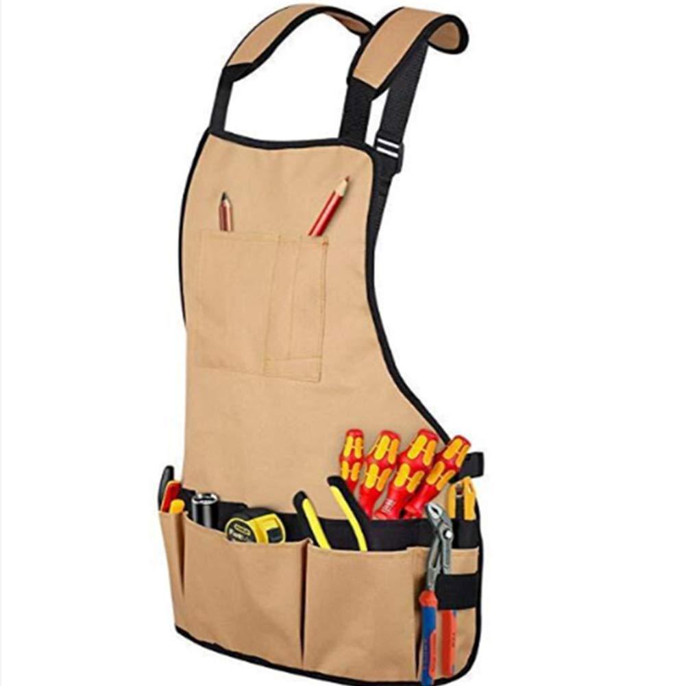 Hardware Kit Tool Garden Bag Multi-Purpose Garden Tool Aprons with Multi-functio