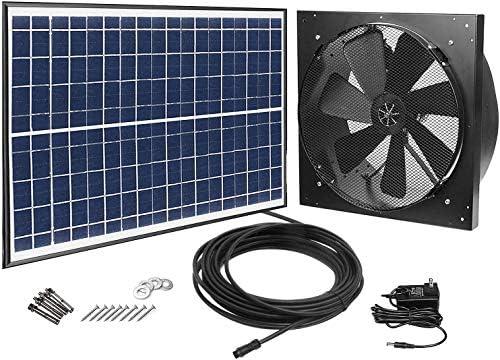 20 W solar desván Fans, Solar Ventilador Solar Canalizado ...