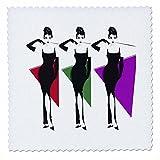 3dRose RinaPiro Audrey Hepburn - Audrey Hepburn. British actress. Fashion Icon. Screen legend. - 25x25 inch quilt square (qs_273569_10)