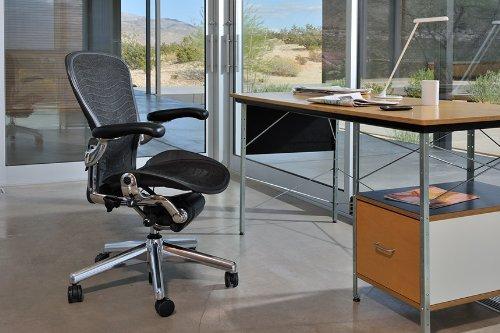 Amazon Com Herman Miller Classic Aeron Chair Posturefit Support Kit Graphite Size C Kitchen Dining