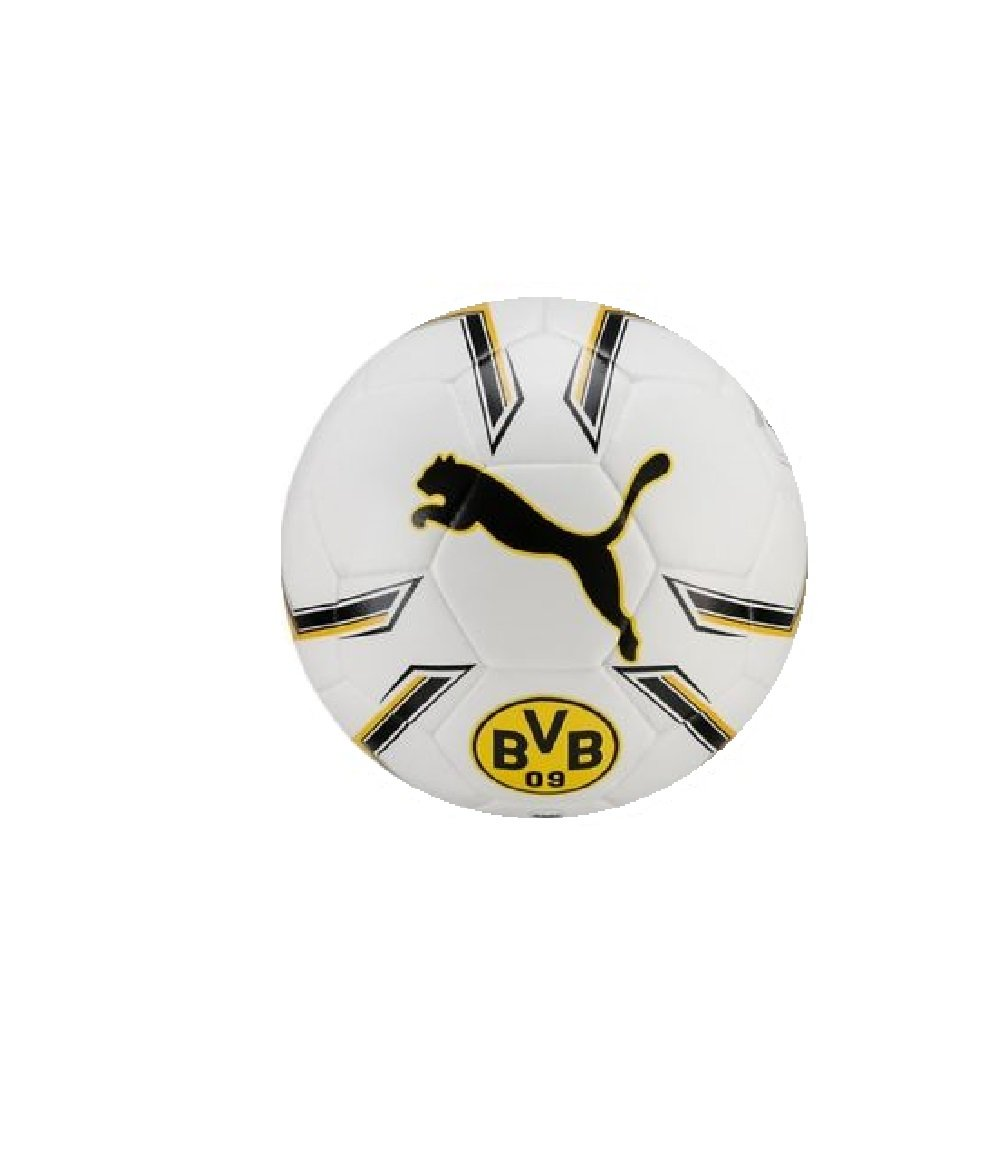 Puma weiss - Fussball - Ball - Fußball - Gr. 5 - BVB - Borussia Dortmund - weiß - gelb schwarz - Bundesliga