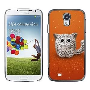 LECELL -- Funda protectora / Cubierta / Piel For Samsung Galaxy S4 I9500 -- Cute Snow Cat --