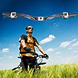 Tmalltide Mountain Bike Bicycle Aluminum Alloy Riser Bar Handlebar 31.8mm 620mm New