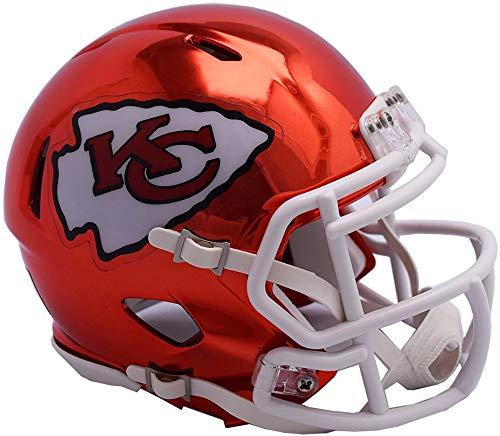 Riddell Kansas City Chiefs Chrome Alternate Speed Mini Footb