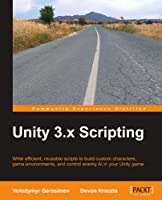 Unity 3.x Scripting Front Cover