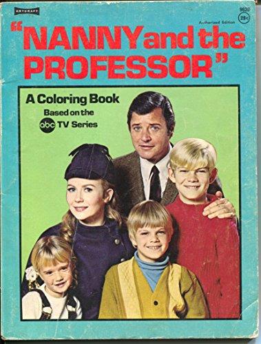 (Nanny and The Professor Coloring Book #9620 1970-Richard Long TV series-VG)