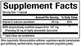 Natural Factors - Bioactive Quercetin EMIQ 50mg, 40 Times Greater Absorption than Quecetin, 60 Vegetarian Capsules