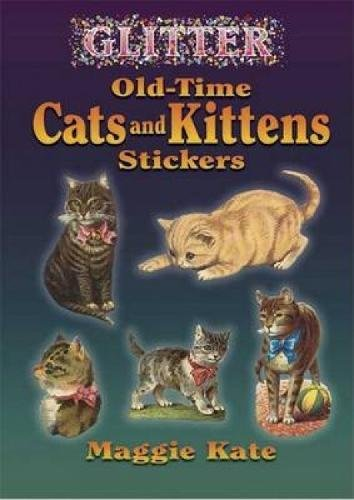 Collectible Granddaughter (Glitter Old-Time Cats and Kittens Stickers (Dover Stickers))