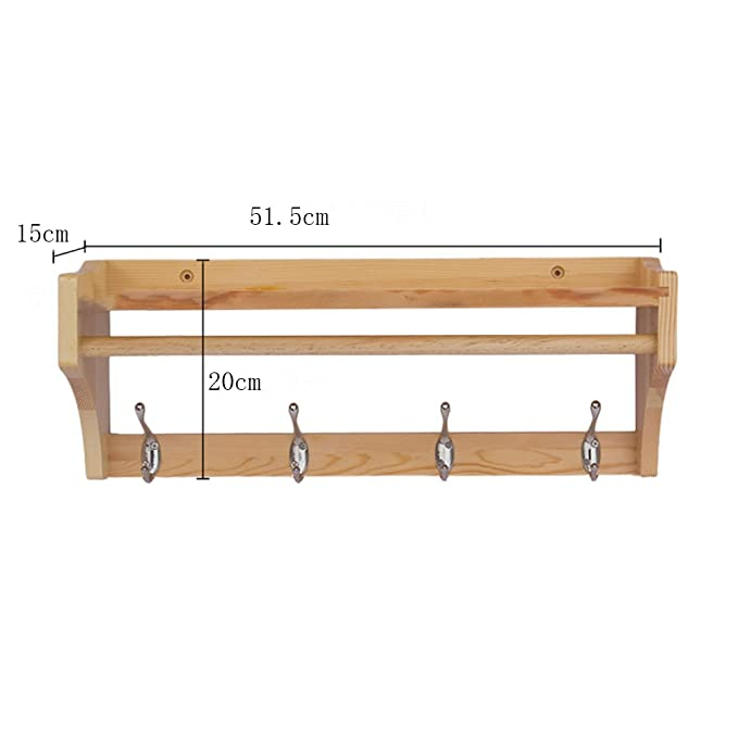 Amazon.com: Tingting Wall Mounted Coat Rack The Door Hook ...