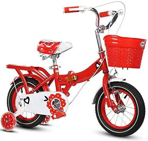 YSA 子供用自転車子供用自転車12/14/16/18/20インチの男の子と女の子のサイクリング、2〜11歳の子供に適していますブルーピンクパープルレッド