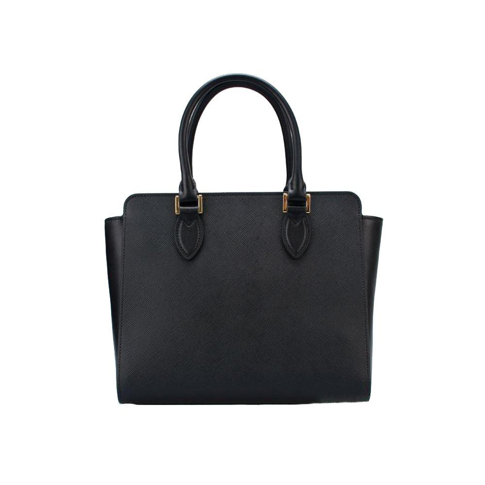 Prada Women s Saffiano Leather Shoulder Tote Handbag 1BA113  Handbags   Amazon.com 13176e53df133
