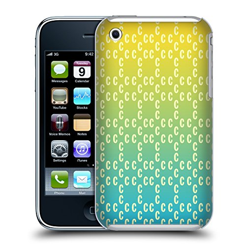 Official Cosmopolitan Ombre Pattern 2 Logo Hard Back Case for Apple iPhone 3G / 3GS