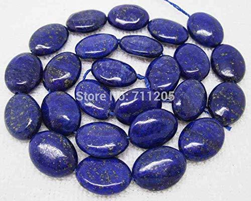 Calvas 12x16mm Lapis Lazuli Oval Loose Beads 15