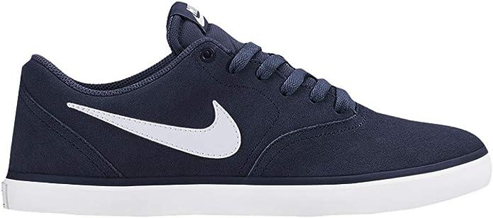 Nike SB Check Solarsoft Sneakers Skateboardschuhe Herren Marineblau