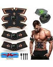 zociko Appareil Abdominal, Electrostimulateur Musculaire EMS Smart Ceinture USB de Charger Abdominal ABS Trainer