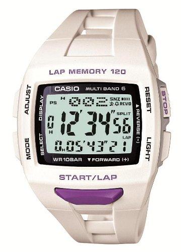 [카시오]CASIO 손목시계 fizz LAP MEMORY 120 전파 솔라 국내 메이커1년 보증부 STW-1000-7JF