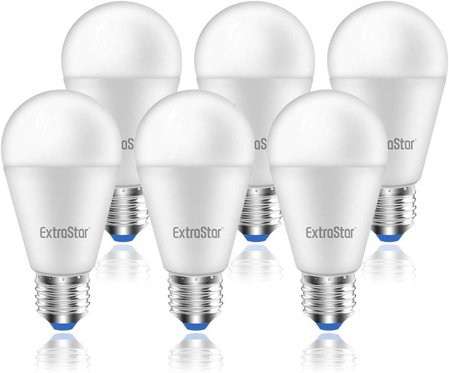 Bombilla LED E27, 15W (equivalente a 120W), 1200lm,6500K luz fría - 6 unidades [Clase de eficiencia energética A+]