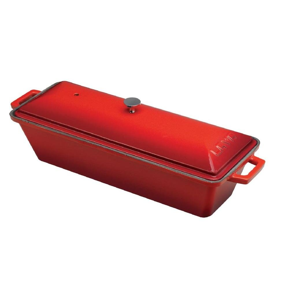 Signature Cast Iron Loaf Pan (RED)