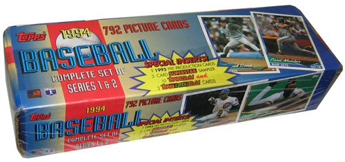 MLB 1994 Topps Factory Set