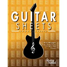 Guitar Sheets Chord Chart Paper: Over 100 pages of Blank Chord Chart Paper, TAB + Staff Paper, & more