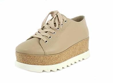 c8ad96bad17 Steve Madden Womens Korrie Natural Sneaker - 9.5: Buy Online at Low ...