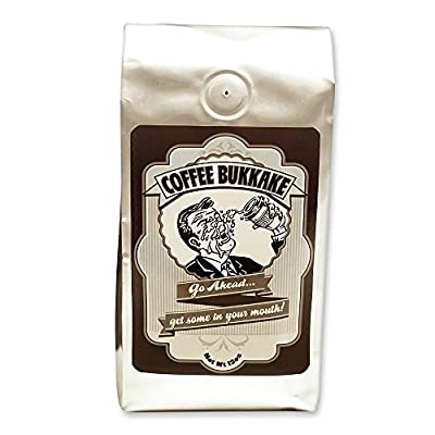 Coffee Bukkake - Mouth Worthy Blended Coffee Flavored with Maple/Spice & Caribbean Rum - Wholebean 12oz