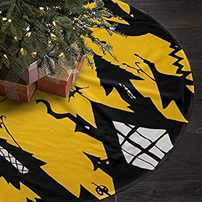 Amazon Com Heart Yan Christmas Tree Skirts The Nightmare Before