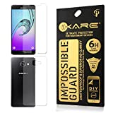iKare Front/Back Fiber Tempered Screen Protector for Samsung Galaxy A5 2016 Edition (Note : - This Fiber Glass Will Not Cover Edges of the Mobile Screen)
