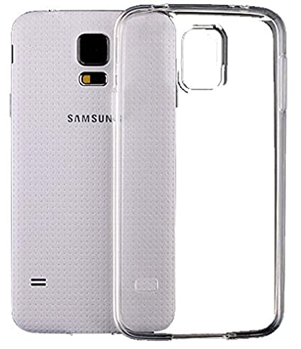 the latest fe381 7119e SDTEK Case for Samsung Galaxy S5 Clear Gel Transparent Soft Premium Case  Cover [Silicone TPU]