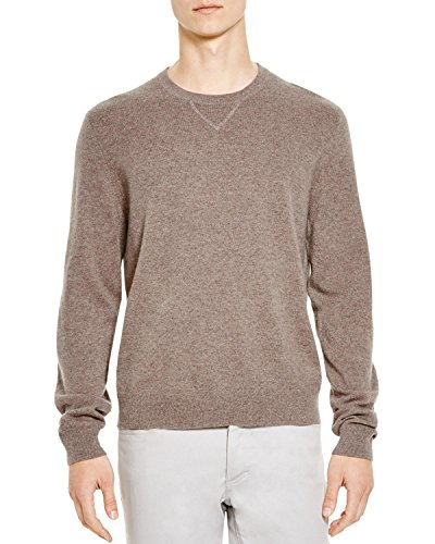 - Bloomingdale's Mens Slim Fit Cashmere Crewneck Sweater X-Large XL Toasted Almond