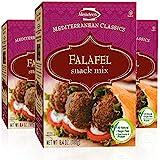 Manischewitz Mediterranean Falafel Ball Mix 6.4oz (3 Pack) All Natural, Sugar Free, Certified Kosher, 7 Grams of Protein Per