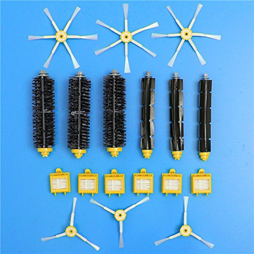 18pcs Filters and Brushes Kit Replacement Vacuum Part for Irobot Roomba 700 Series Vacuum Cleaner