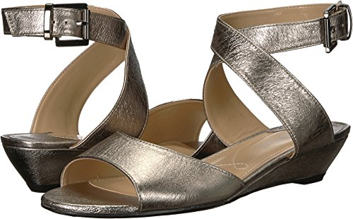 J. Renee Womens Belden Taupe Metallic 12 M (B)