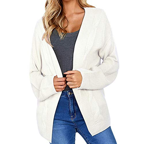 NRUTUP Knitted Sweater, Womens Winter Cardigan Long Sleeve